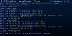 The new born of the well-known traceroute tool.