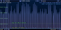 Traffic Monitor - file sharing service speed throttling